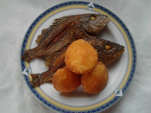 Fried Fish and Johny Cakes