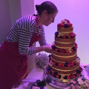 Fiona makes amazing wedding cakes ...our Spring Dish of the Day